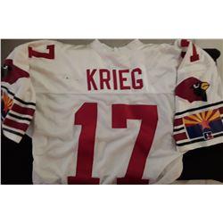 David Kreig Signed Autograph Jersey