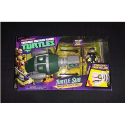 Teeage Mutant Ninja Turtles Donatello W/Turtle Underwater Stealth Submarine Shell