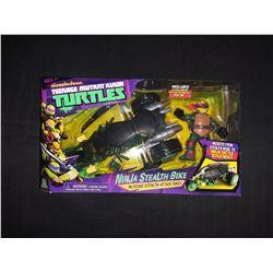 Teeage Mutant Ninja Turtles RalphaelW Ninja Stealth Bike (Changes From Stealth To Ninja Battle Bike)