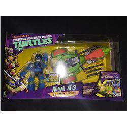 Teeage Mutant Ninja Turtles Leonardo W/Ninja AT-3 That Shoots Missiles