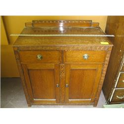 2 DRAWER 2 DOOR SMALL CABINET