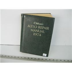 1974 CHILTON'S AUTO REPAIR MANUAL