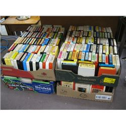 4 BOXES OF 8 TRACK TAPES -3