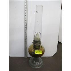 BRASS BASED COAL OIL LAMP
