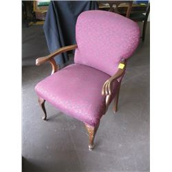 MATCHING UPHOLSTERED ARMCHAIR