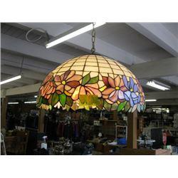 HANGING TIFFANY LIKE LAMP