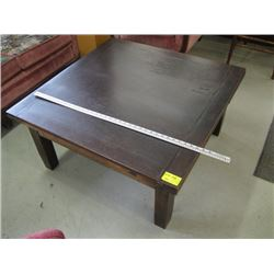 SQUARE COFFEE TABLE WITH DRAW LEAF