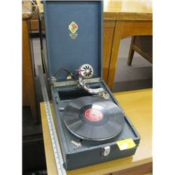 PORTABLE GRAMOPHONE (NOT WORKING)