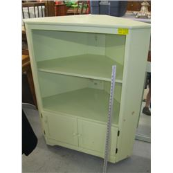 CORNER CABINET WITH 2 DRAWERS