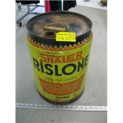 SHALER RISTLONE 5 GAL OIL ALLOY CAN