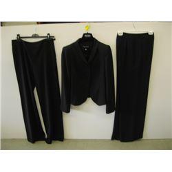 3 PCS OF GORGIO ARMANI CLOTHING ( 1 JACKET, 2 PR OF PANTS)