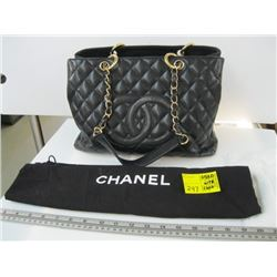 AUTHENTIC CHANEL BAG WITH CARD - USED - VIN#11797664