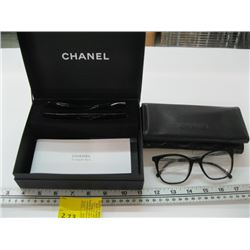 PR OF CHANEL SUNGLASSES WITH INTERCHANGEABLE LENSES IN BOX WITH CASE