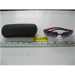 PR OF CHANEL #4048 NO FRAME SUNGLASSES WITH CASE (USED)