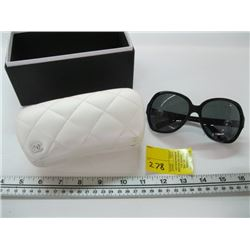 PR OF CHANEL 5141-H SUNGLASSES WITH WHITE CASE & BOX