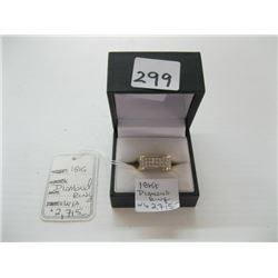 18kt DIAMOND RING WITH LOCAL APPRAISAL $2,715.00 (APPRAISAL IN OFFICE) - sz 6 1/4 approx.