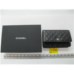 NEW AUTHENTIC CHANEL SMALL WALLET PURSE CARD #26975806 WITH ORIGINAL BOX & BAG