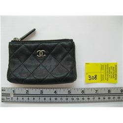 USED CHANEL CHANGE PURSE WITH CARD #14607073
