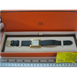 HERMES PARIS WATCH IN ORIGINAL BOX