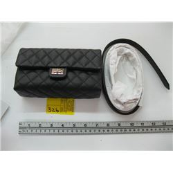 NEW IN BOX AUTHENTIC CHANEL UNIFORM BELT & BAG WITH CARD #25260142