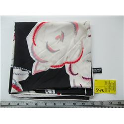 AUTHENTIC CHANEL SILK SCARF