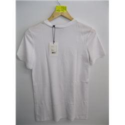 NWT THEORY WHITE T- SHIRT (L)