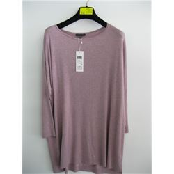 NWT EILEEN FISHER MAUVE TOP (M)