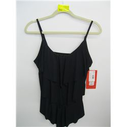 NWT MAGICSUIT BLACK SWIMMING TOP (SZ 12)