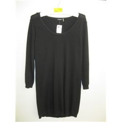 NWT BLACK MAGASCHONI CASHMERE SWEATER (L)