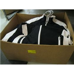 LARGE BOX OF VARIOUS JACKETS