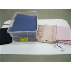 BOX OF ASSORTED SCARVES