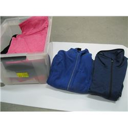 BOX WITH ASSORTED PULLOVERS