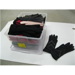 BOX OF ASSORTED GLOVES & MITTS