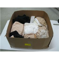 BOX OF PANTIES (SOME NEW WITH TAGS)