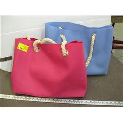 2 PINK & BLUE HOLT RENFREW BAG