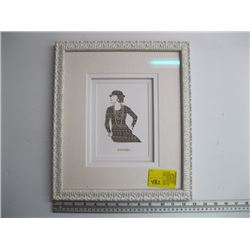 CHANEL FRAMED PICTURE
