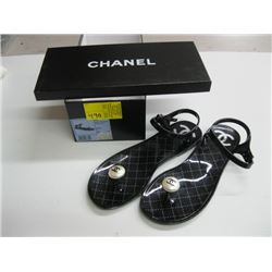 PR OF NEW CHANEL SIZE 38 SANDALS