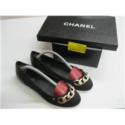 PR OF CHANEL SIZE 38 1/2 SHOES