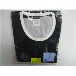 BLACK WITH WHITE TRIM CHANEL UNIFORM TOP SIZE 44