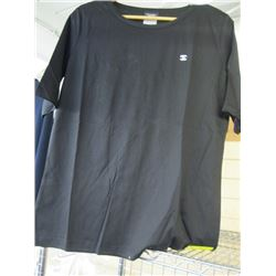 CHANEL BLACK T-SHIRT SIZE LARGE WITH LOGO