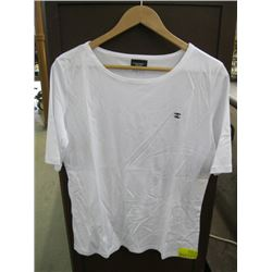 WHITE CHANEL LARGE T-SHIRT WITH LOGO