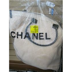 NEW CHANEL MISC BEACH BAG WITH BLANKET & SMALLER BAG