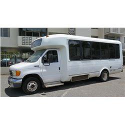 2005 Ford E450 Passenger Bus, 25-Passenger, 203,168 Miles, Lic. NWF077 - Needs Repair