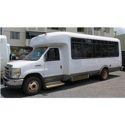 2009 Ford E450 Passenger Bus, 25-Passenger, 128,912 Miles, Lic. RBD397