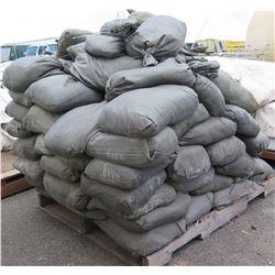 Pallet Multiple Gray Sandbags