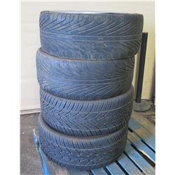 "Qty 4 TR968 Tires 294/35R24  110V on ""V"" Rims"