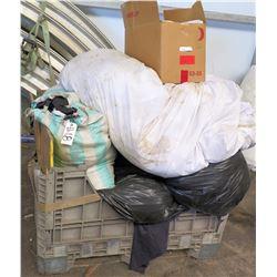 Plastic Bin & Box Misc Tarps & Tent Panels, 9' Leg Drapes, etc