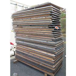 Approx. 30 Wooden Rectangular Folding Tables