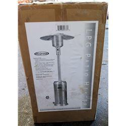 Fire Sense Outdoor Garden & Patio Propane Heater Model LTCSPH-SS in Box