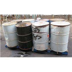 Qty 8  55 Gal Drums Rhino Linings Hybrid HD-55 450 lbs Industrial Coatings